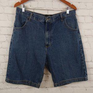 Red Head Men Denim Blue Shorts Size 35